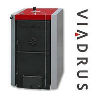 Котел Твердотопливный Viadrus Нercules U22 C (4 Секции, 23Квт) В Комплекте С Терморегулятором