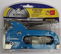 Степлер строительный механический Professioanal 4 - 8 мм. Сталь (арт. 62003)