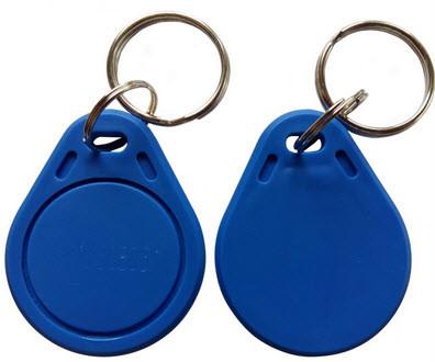 Бесконтактный ключ RFID брелок EM-Marine с кодом