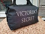 Женская cумка VICTORIA'S SECRET  спортивная сумка Отдых мессенджер с кожаным пляжные cумка только ОПТ), фото 2