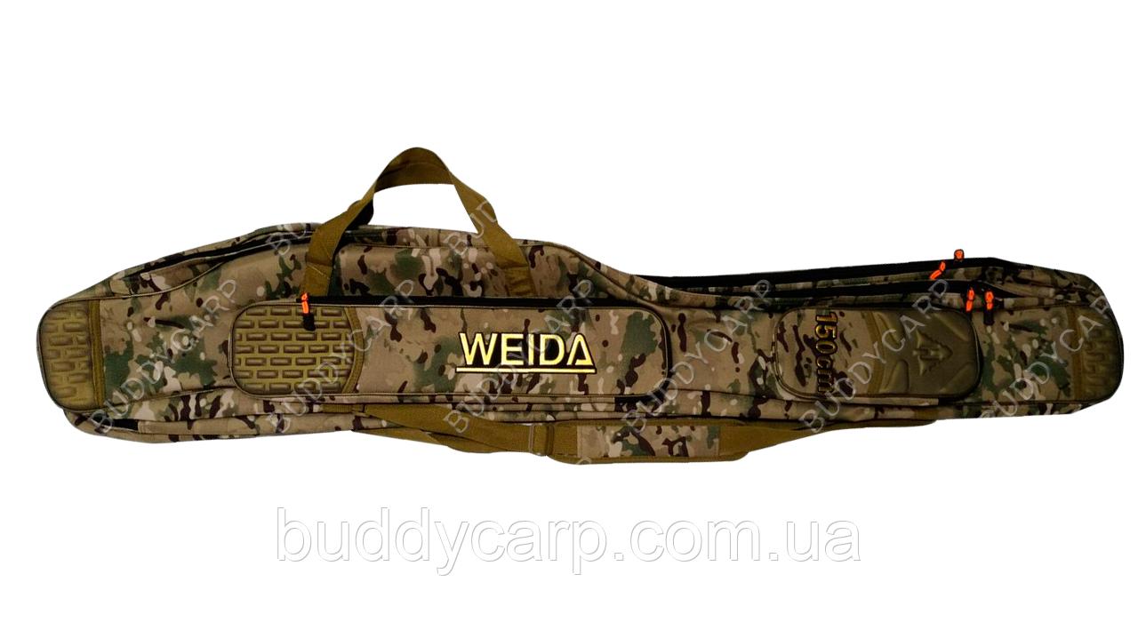 Чохол напівжорсткий Weida (Kaida) 150 см 3 відсіку камуфляж