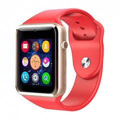 Умные смарт-часы Smart Watch A1 Original Red (Smart Watch A1 Red)