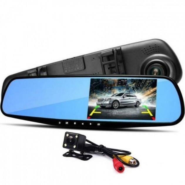 Видеорегистратор-зеркало DVR Full HD, камера заднего вида в Подарок!