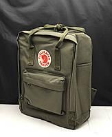 Рюкзак Канкен сумка портфель Kanken Fjallraven Classic текстиль рефлективное лого 8 цветов 16л реплика