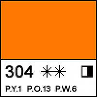 Краска масляная ЛАДОГА кадмий оранжевый (А), 46мл ЗХК