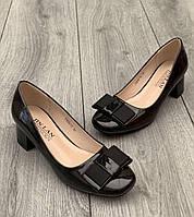Туфли женские 8 пар в ящике черного цвета 36-41, фото 1