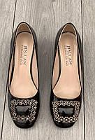 Туфли женские 8 пар в ящике черного цвета 36-41, фото 2