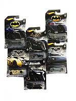Набір ексклюзивних колекційних машинок Hot Wheels 2018 Хот Вілс Batman Bundle of 6 Die-Cast Vehicles