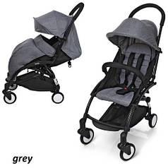 Детская прогулочная коляска El Camino YOGA M3548 Grey