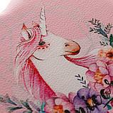 """Шкатулка для украшений """"Романтика"""" (17*15*7 см) кожзам pink 0601JA, фото 4"""