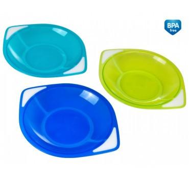 Набір тарілок для хлопчика (3 штуки) ТМ Canpol Babies