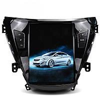 Автомагнитола в стиле Тесла Hyundai Elantra 2011-2013 г.в. с GPS навигацией