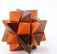 Детский кубик деревянный