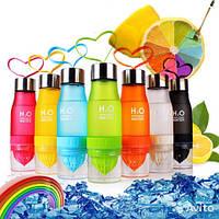 Спортивная фитнес-бутылка соковыжималка H2O Water bottle