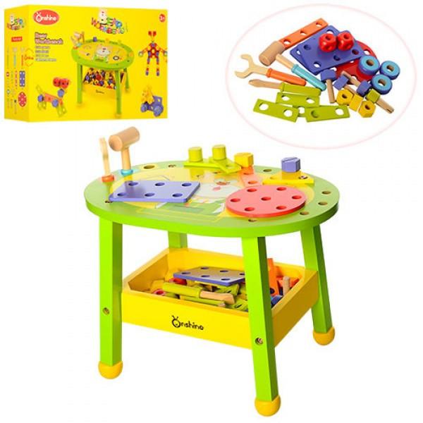 Деревянная игрушка Конструктор