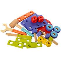 Деревянная игрушка Конструктор , фото 3
