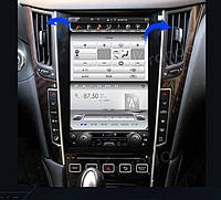Автомагнитола в стиле Тесла Infiniti Q50 2013+ г.в., фото 1