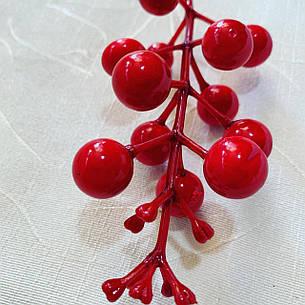 Декоративная насадка-ягода красная., фото 2