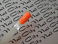 Оранжевый гель лак CityNail 970 ( морковный )