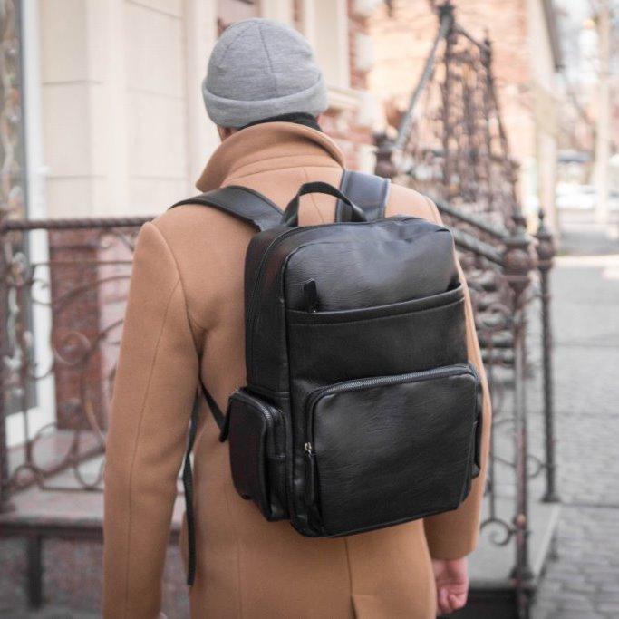 Рюкзак кожаный mod.LOFT портфель