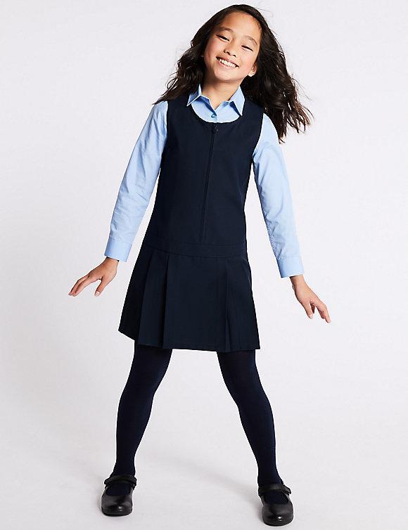 Школьный сарафан темно-синий на девочку 6-7-8 лет Marks&Spencer (Aнглия)