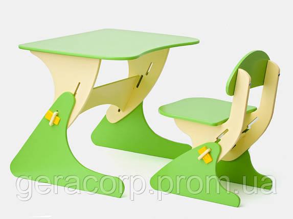Детский стол и стул с регулировкой по высоте SportBaby , фото 2