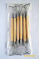 Набор инструментов для лепки, петля двусторонняя, 6 шт., 20 см., D.K.ART & CRAFT