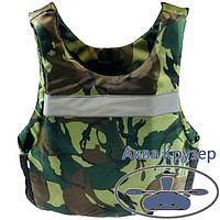 Страхувальний жилет-майка 50-70 кг універсальний камуфляж сертифікований - рятувальні жилети