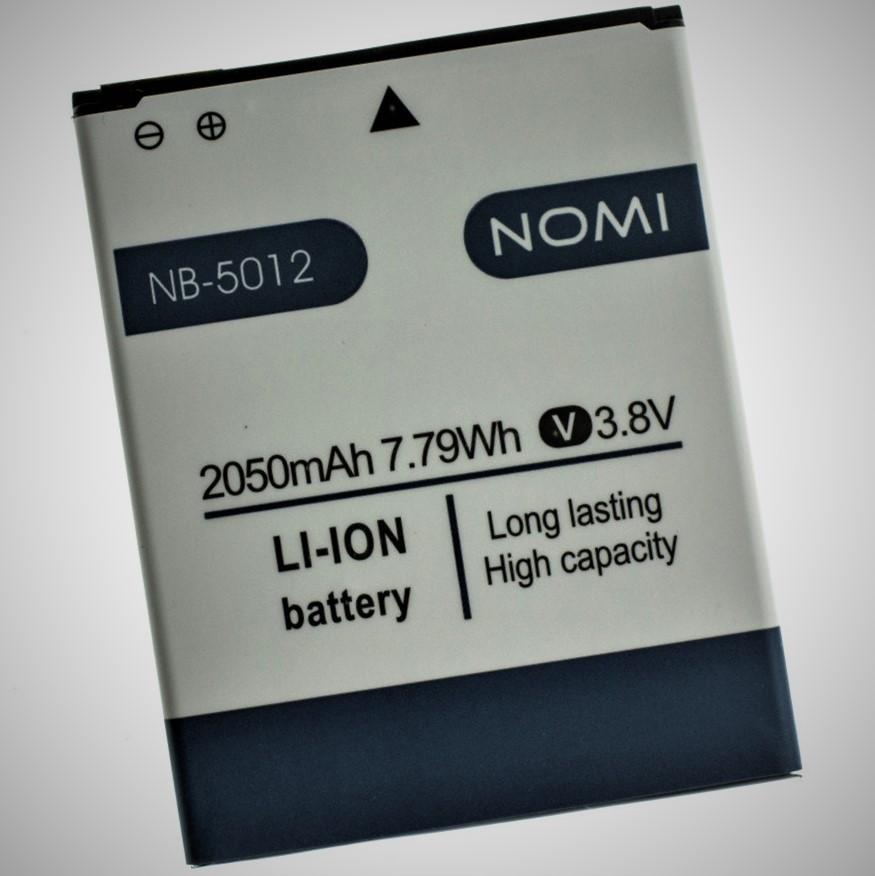 Аккумулятор для Nomi NB-5012 NB-5012