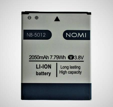 Аккумулятор для Nomi NB-5012 NB-5012, фото 2