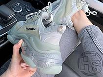 Женские кроссовки Balenciaga Triple S Clear Sole Grey 541624 W09E1 9000, фото 2