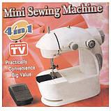 Швейная машинка мини 4 в 1 (детская швейная машинка), фото 6