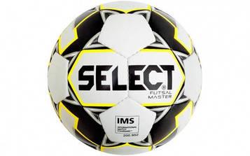 М'яч футзальний №4 SELECT FUTSAL MASTER (біло-чорний)