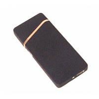 Зажигалка USB 110 черная матовая, A427