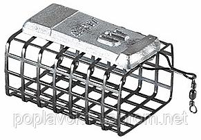 Кормушка фидерная Jaxon AV-PA прямоугольная открытая (25/32/56мм 80г)