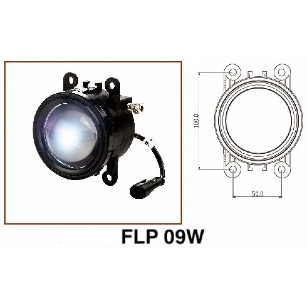 Светодиодные противотуманные фары ALED FLP 09W (2шт)