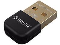 Мини адаптер Orico USB Bluetooth 4,0  Черный