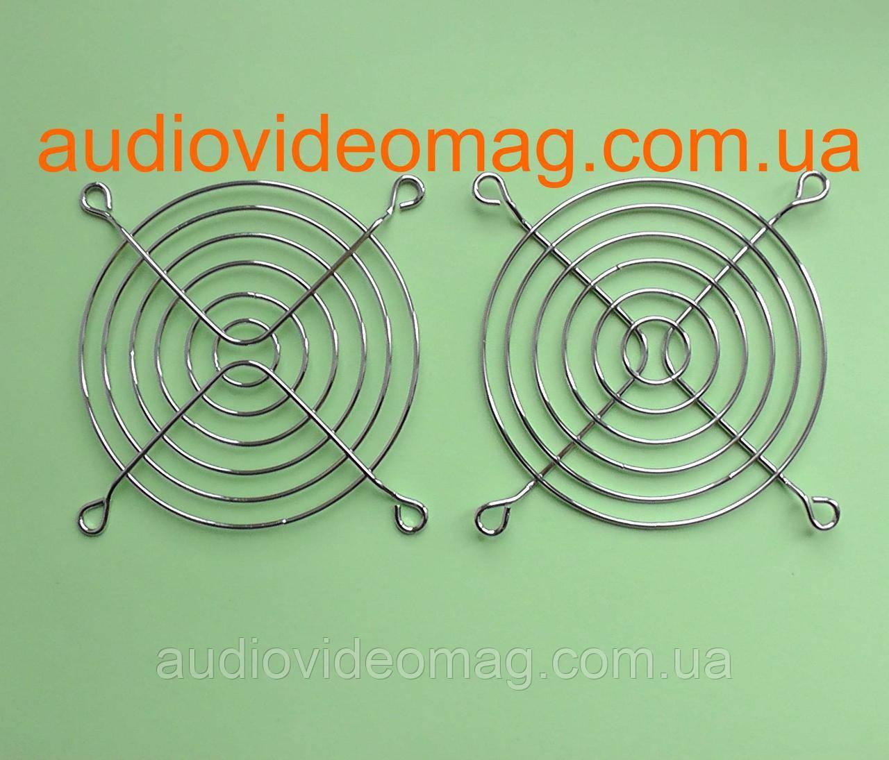 Сітка захисна для вентиляторів (кулерів) 80х80 мм, металева