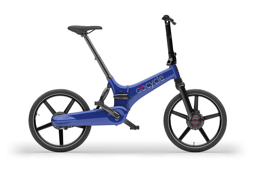 Електровелосипед GoCycle GS (синій) 2019 Великобританія