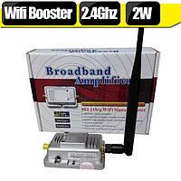 Wi-Fi репитер усилитель (бустер) 802.11b/G 20 МГц и 40 МГц 2400 МГц ~ 2500 МГц 2W, фото 1
