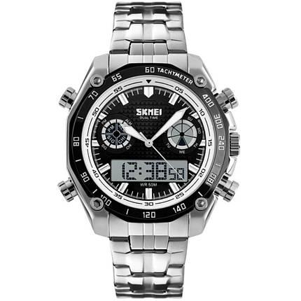 Часы Skmei 1204 Black White Circel BOX (1204BOXBKWHC), фото 2
