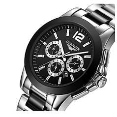 Часы Guanqin Black-Black-SilverBlack GQ50026 CS (GQ50026BBSB)