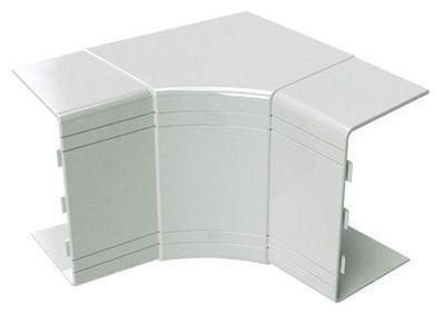 25x30 кут внутрішній змінюваний (70-120°), білий RAL9001 [1721] NIAV