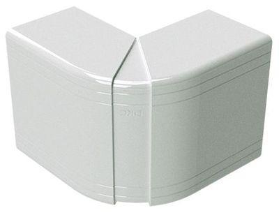 40х40 кут зовнішній незмінний (90), білий RAL9001 [1806] NEA