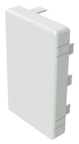 60x40 заглушка біла RAL9001 [869] LAN