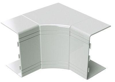 80x40 кут внутрішній незмінний (90), білий RAL9001 [1824] NIA