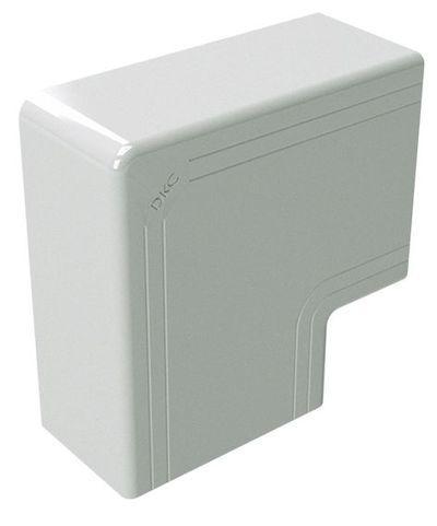 80x40 кут плаский білий RAL9001 [1740] NPAN