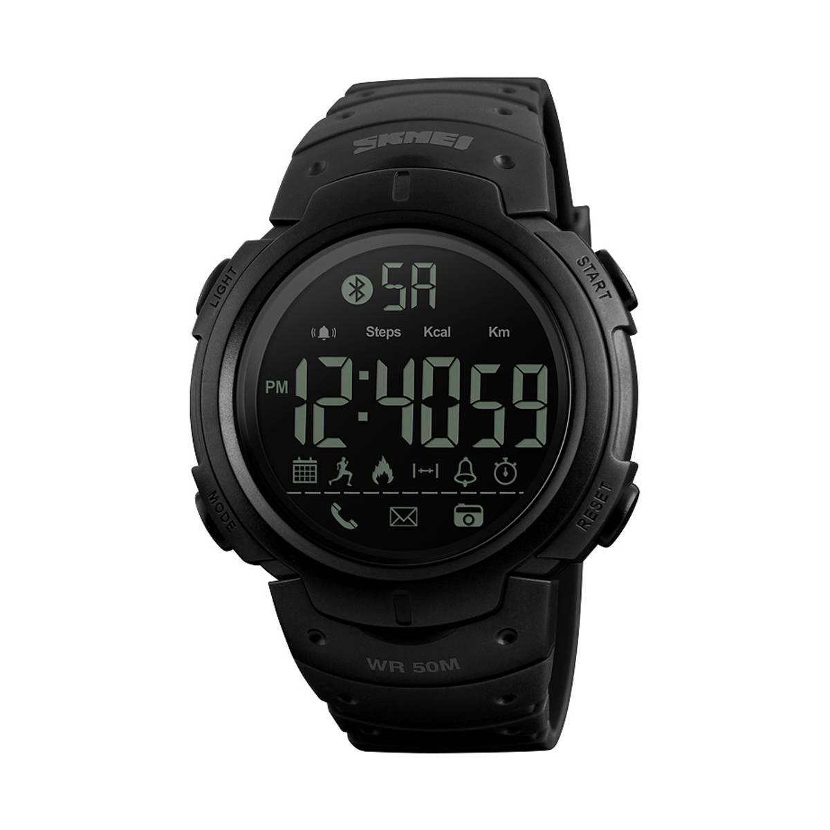 Часы Skmei 1301 Black BOX Черный (1301BOXBK)