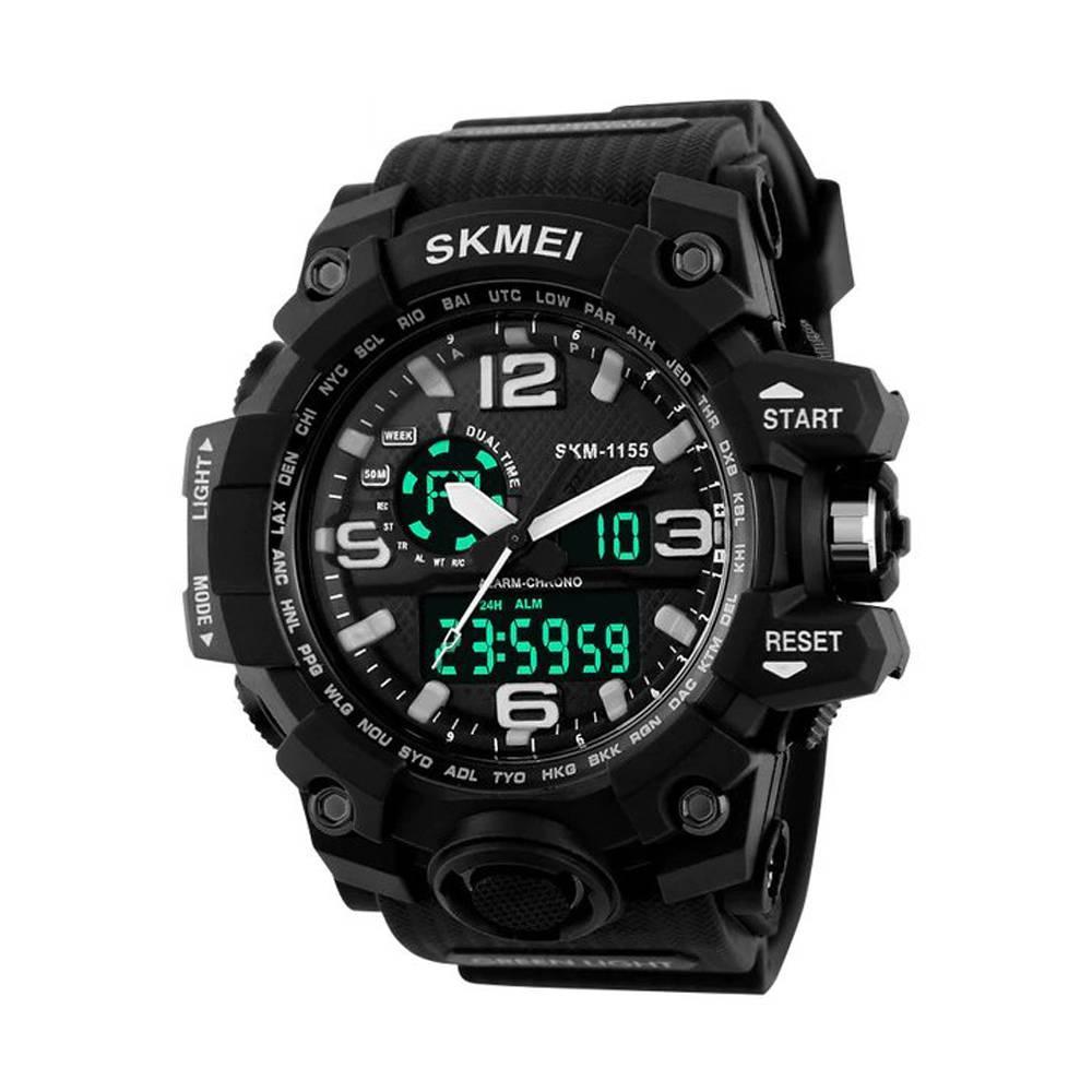Часы Skmei 1155 Black (1155BOXBKWT)