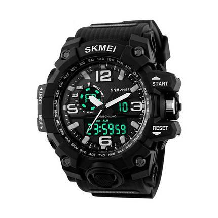 Часы Skmei 1155 Black (1155BOXBKWT), фото 2